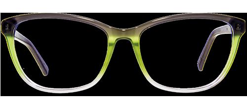 Brille mit drei Übergängen